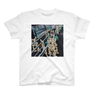 仮歩道のうさぎ T-shirts