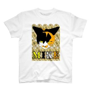 小判に猫 T-shirts