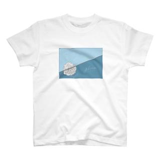 rose-gleam #blue T-shirts