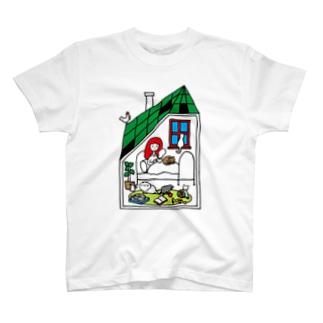 ネコと暮らせば T-shirts