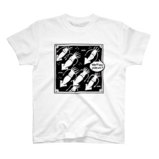 イカ T-shirts