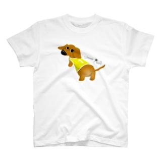 Wanna Play?【Sゴールド/BOY】 T-shirts
