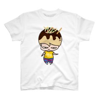 たこ焼きちゃん T-shirts