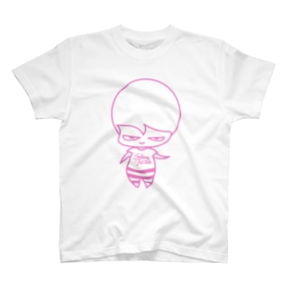 関根フーズ/sekinefoodsのピンクたべちゃん T-shirts