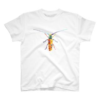 カミキリムシ T-shirts