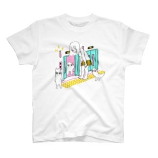 小さいエレベーター T-shirts