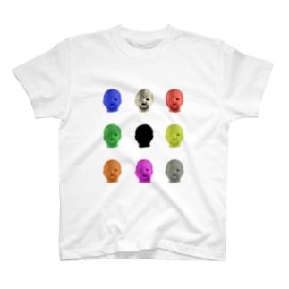 ほんまめがねのみんなちがってみんないい T-shirts