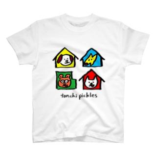 AT HOME T-shirts