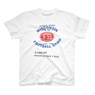 フットボール×ミリタリー T-shirts