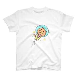 宇宙ラッコ T-shirts