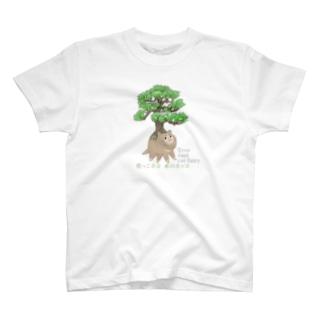 根っこ猫 Tシャツ T-shirts