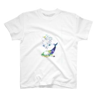深海クジラ T-shirts