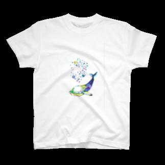 sutefaniの深海クジラ T-shirts