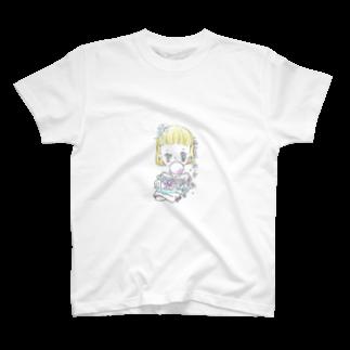 sutefaniの女の子 T-shirts