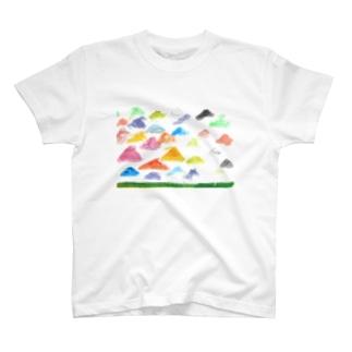 虹色のやね T-shirts