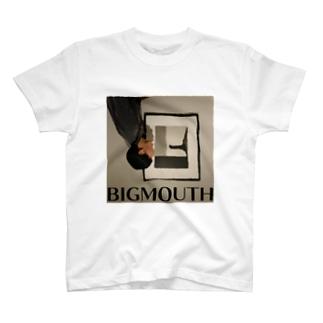 「big mouth」Tシャツ T-shirts
