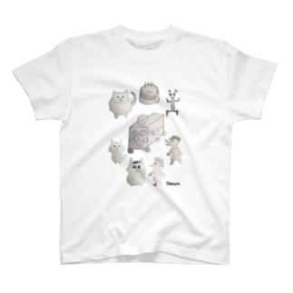 しまりん第1回wallpaper画伯大会優勝記念 T-shirts