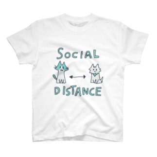 SOCIAL DISTANCEな服 T-shirts