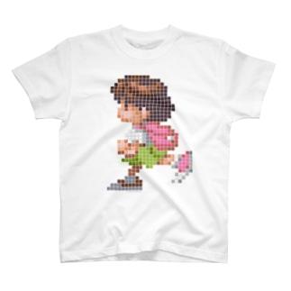 海腹川背 ドット絵 T-shirts