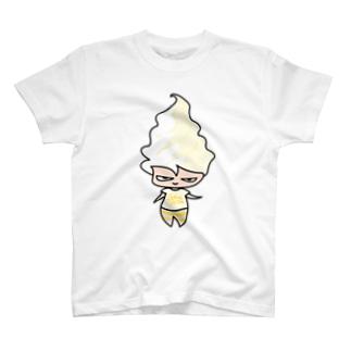 グラス ア ラ ヴァニーユちゃん T-shirts