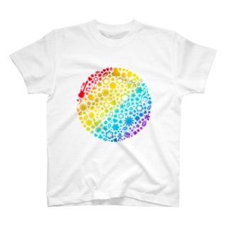 Rainbow world T-shirts