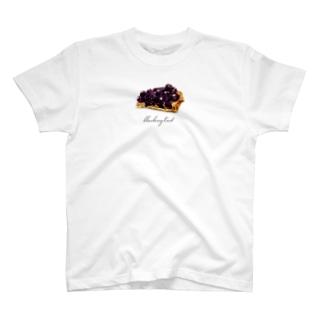 blueberry tart T-shirts