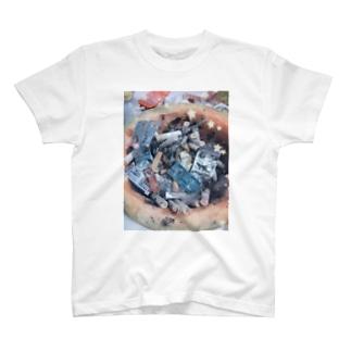 メロンの灰皿 T-shirts