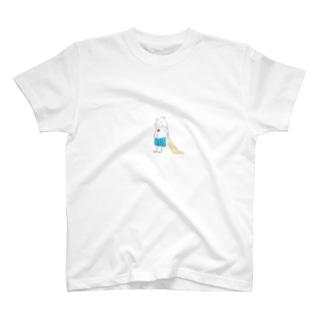 モジャ男の休日 T-shirts