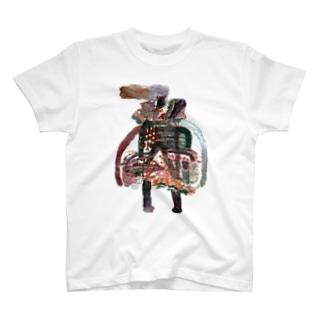 ふかふかひゅーっのみすえる T-shirts