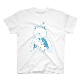 かき氷おたべ しろくま親子 T-shirts