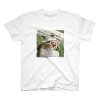 カエル2 T-shirts