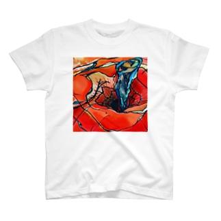 りんごの真ん中 T-shirts