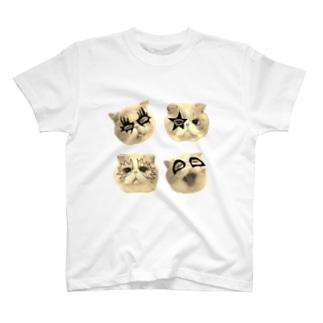 ププきっす セピア T-shirts