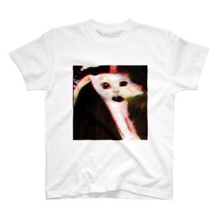 炎のとべ猫 T-shirts