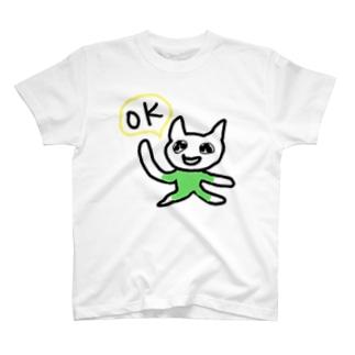 OK猫ちゃん T-Shirt