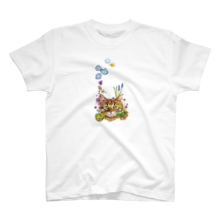 花咲かCAT T-shirts