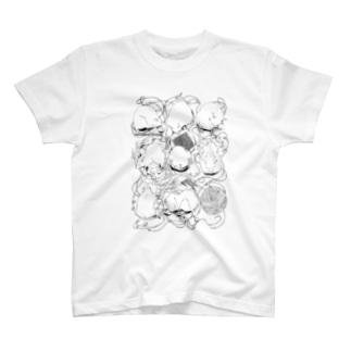 ねずみちゃんのいちねん T-shirts