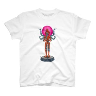 メカニック阿修羅 T-shirts