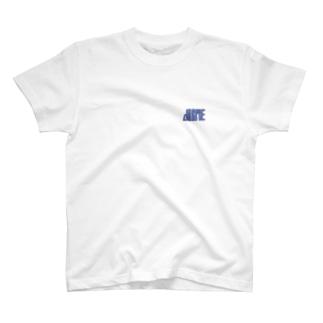 植物園にて(青) T-shirts