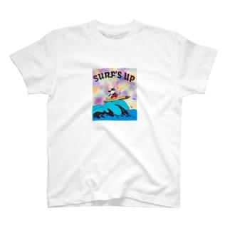 yurinodayoのさーふ T-shirts