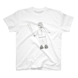 サブカル妖怪シリーズ - リストラリーマン T-shirts