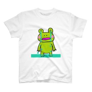 きままなカエル氏。 kimamana-kaeruuji T-shirts