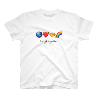 Laugh together 2 T-shirts