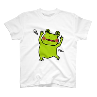 カエル氏OMGOMG T-shirts