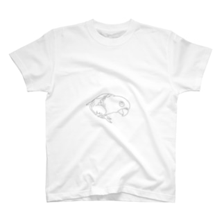 愛鳥コガネメキシコインコ T-shirts