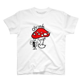 ありさんのdrink~COLOR version~ T-shirts