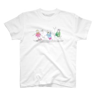 西遊記 休日ショッピング T-shirts