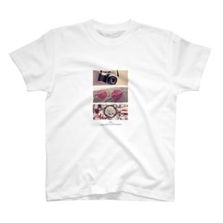 レンズ T-shirts