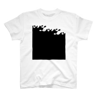 Love square T-shirts