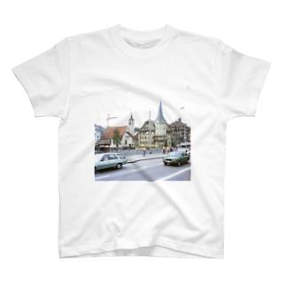 スイス:ルツェルン湖畔の風景写真 Switzerland: Luzern T-shirts